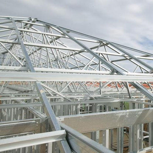 Steel Stainless Steel Commercial Roof Truss Rs 1200