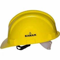 Karam Yellow Safety Helmet