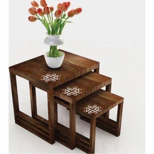Three Step Decorative Table