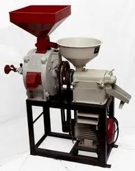 Combined Mini Rice Mill & Pulveriser-Flour Mill