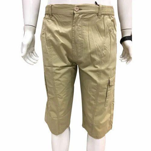 a9283ef698 Brown Cotton/linen Mens Cotton Half Pant, Rs 330 /piece, Prakash ...
