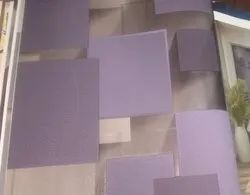 3D PVC Coated Modern Wallpaper