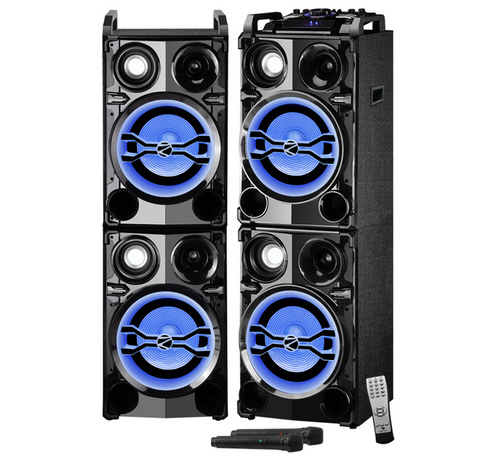 187f6a00e9e Black Monster Pro 2X10 DJ Speakers