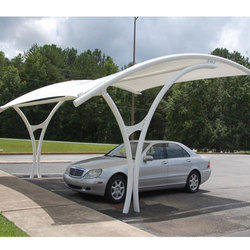 Fabric Car Parking Shed