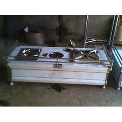 Commercial Two Burner Range