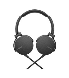 Sony Black Wired Extra Bass MDR-XB550AP Headphones with Mic