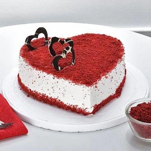 Super Birthday Cake At Rs 1500 Valentine Special Funny Birthday Cards Online Benoljebrpdamsfinfo