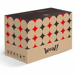 Brown Printed Corrugated Food Packaging Box
