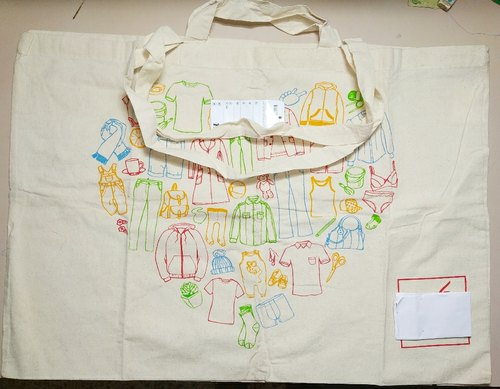 Fancy Printed Canvas Bag