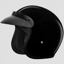 Studds Jetstar Classic Plain - Black Helmet (XL)