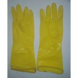 Plain PVC Hand Gloves