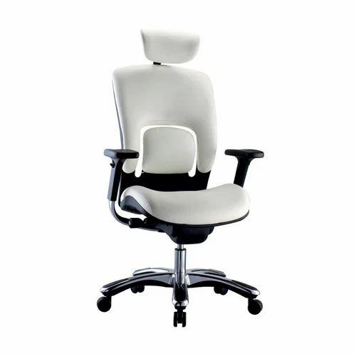 White Orbit Chair