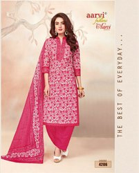 Aarvi Special Pure Cotton Salwar Suits