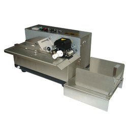 Mild Steel Batch Coding Machines, Automation Grade: Semi-Automatic
