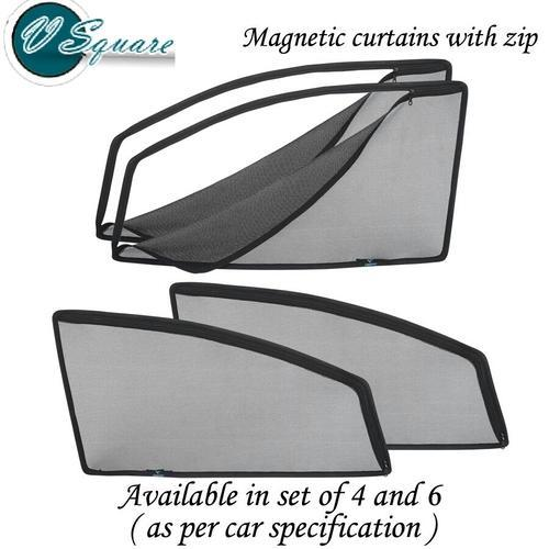 Magnetic Zipper Car Sun Shade Set Of 100 Rs 300 Set Id