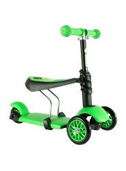 2 - 7 Years Playground Equipment 3 in 1 Child Scooter Toy Tricycle Scooter, Child Age Group: 2 - 7years