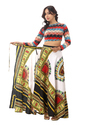Cotton Floral Dashiki Rapron Wrap Around