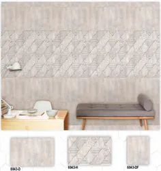 6043 (D, H, DF) Hexa Ceramic Digital Wall Tiles