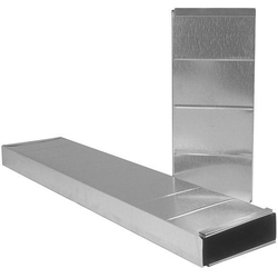 Synergy Electric Rectangular Air Duct, Size: 8 Inches
