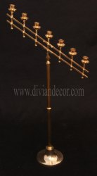 Decorative Brass Candle Holder
