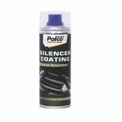 Palco Silencer Coating Silver Spray