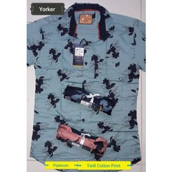 Cotton Mens Trendy Shirt