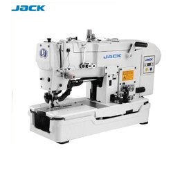 Jack Button Holing Kaj Button Machine, Model Name/Number: T1377e, Automation Grade: Semi-Automatic