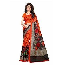 Women's Wear Khadi Jute Silk Saree