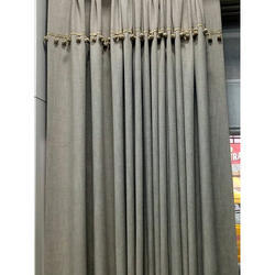 Polyester Plain Curtain, Size: 54 inch