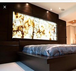Onyx Backlite Marble Designer Wall