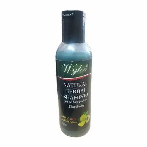 Wylco Herbal Shampoo, Pack Size: 100 Ml, Packaging Type: Bottle