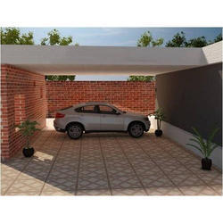 Matt Digital Vitrified Parking Tiles 285x285 & 300x300 mm