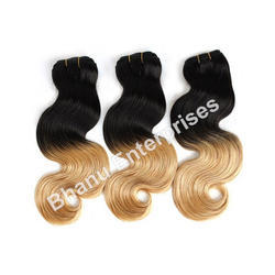 Double Color Body Wave Hair Extension