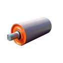 Black And Red Acrylic And Steel Conveyor Drum Pulley, Capacity: 3 Ton And 4 Ton