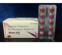 Losartan Pottasium 50 Mg Amlodipine 5mg Tablets
