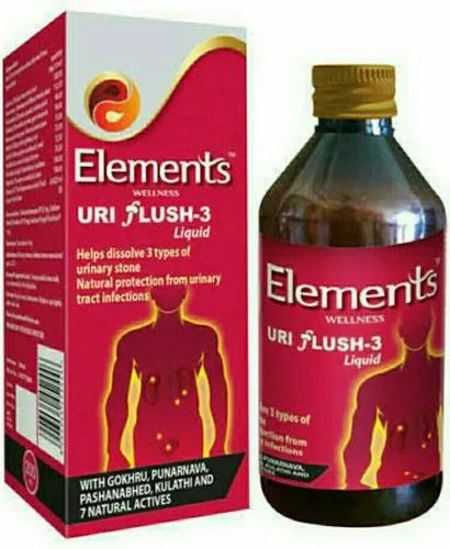 Elements Uri Flush 3 Syrup
