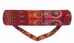 Indian Cotton Mandala Print Yoga Bag Handmade Mandala Shoulder Carry Bag