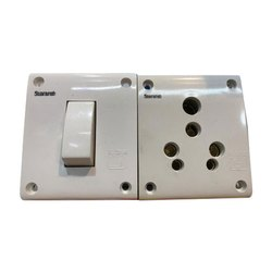 Saaransh 15A Switch Socket