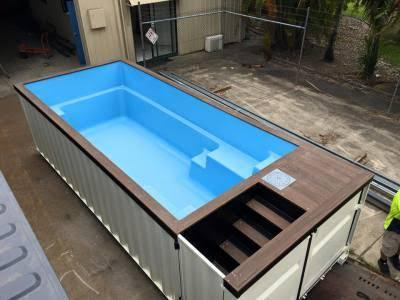 Portable Swimming Pools For Residential Rs 525000 Piece