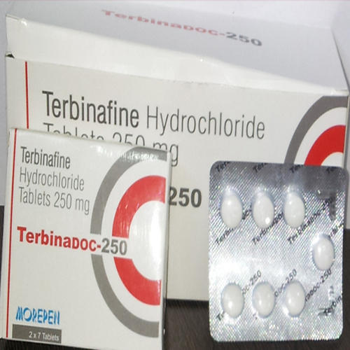 Terbinafine Hydrochloride Tablets, Packaging Type: Blister