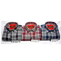 Westerland Cotton Mens Readymade Check Shirt