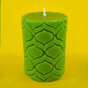 Mimosa Green Candle