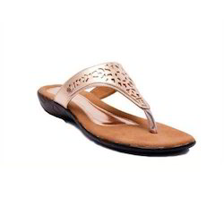 2925d90b7 Daily Wear Brown Sancheti PU Stylish Women Slippers, Rs 999 /pair ...
