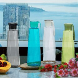 Plastic Bpa Free, I Litre Capacity steelo fridge bottles, Capacity: 1 Litre, For Fridge Bottle