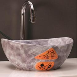 Simpolo Shallow Hand Crafted Wash Basin