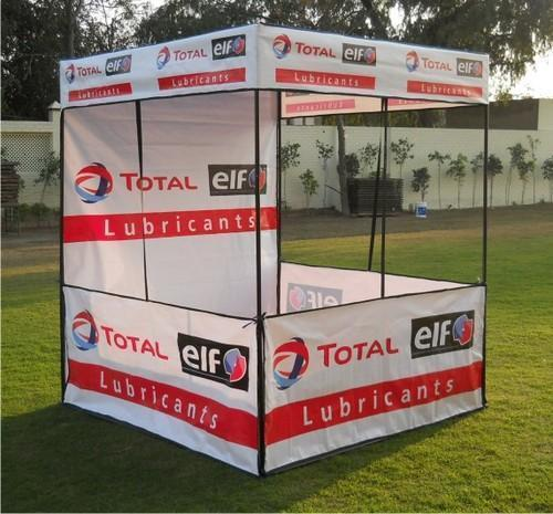 Flat Roof Demo Tents Canopy 4X4X7 for Outdoor Advertising & Flat Roof Demo Tents Canopy 4X4X7 For Outdoor Advertising Rs 1700 ...
