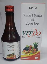 Vitlo Syrup ( Vitamin B Complex With L-lysine Syrup