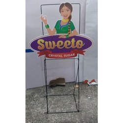 Cut Out Display Stand