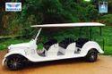 Vintage Golf Cart 8 Seater