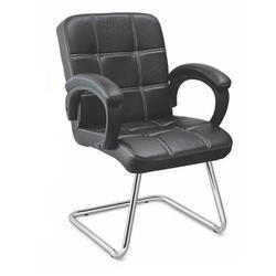 SPS-261 Workstation Black Leather Chair